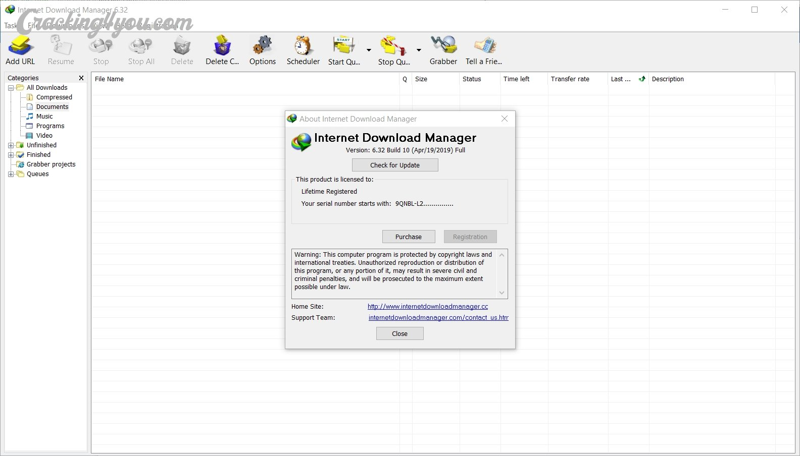 internet download manager cracked full version free download rar