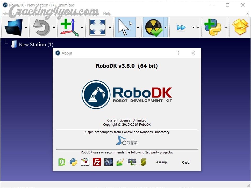 Download RoboDK 3 9 CRACK (PRO Unlimited) Robots Simulator